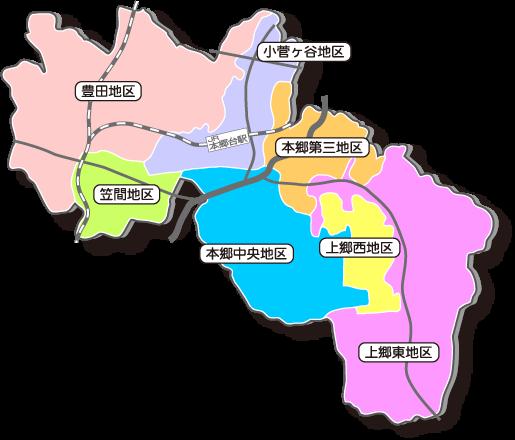 地区社協MAP